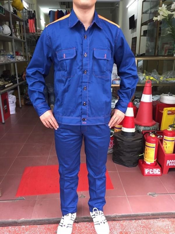 Quần áo bảo hộ lao động cho nhân viên trạm xăng 01